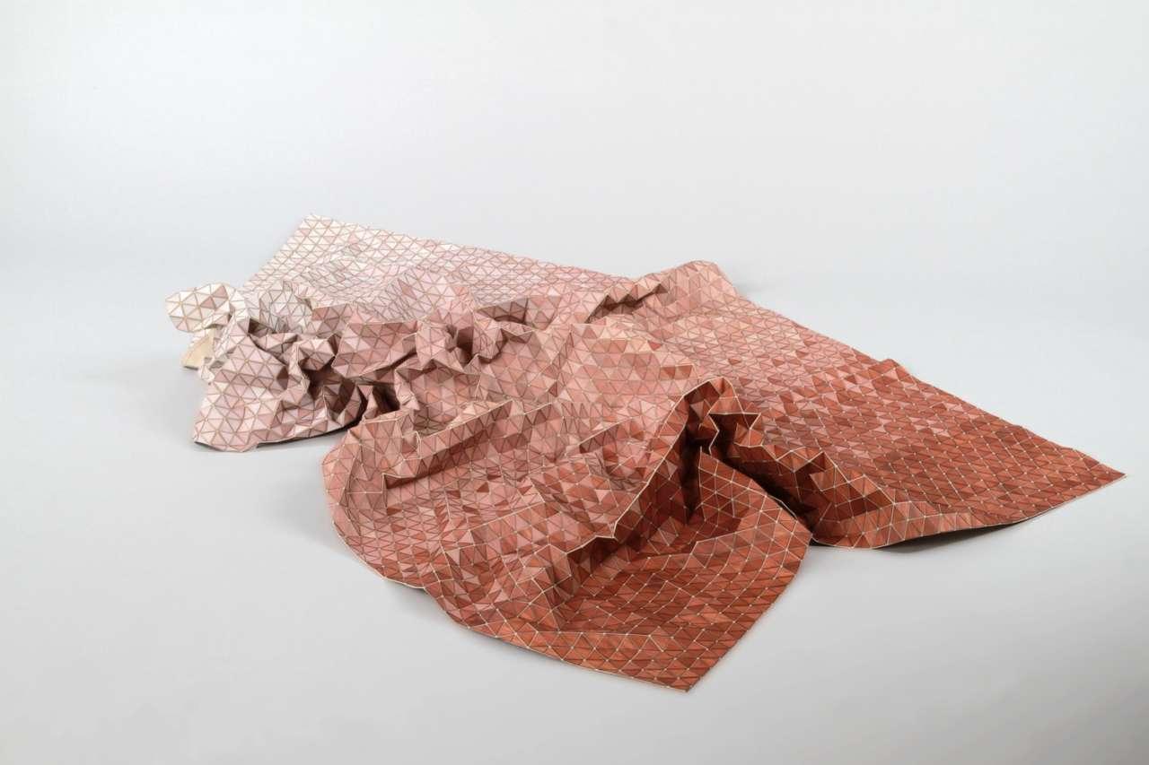 Elisa Strozyk, transformation du bois en tissu