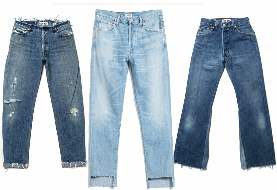 Jeans, tendance automne 2016