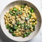 Pâtes, brocolis, parmesan et citron