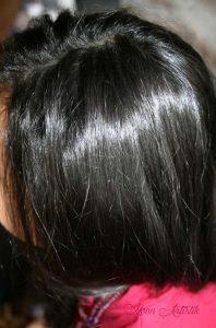 """Masque """"Divine perle de riz"""", au cacao et à la crème de coco, pour des cheveux lissés, fortifiés et brillants."""