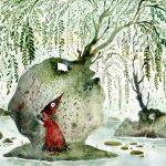 Amber Ma, aquarelle Pinocchio Forest