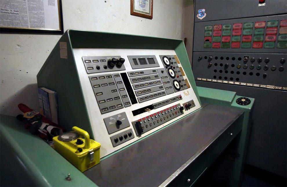 Console de lancement de missiles, hébergement AirBnB