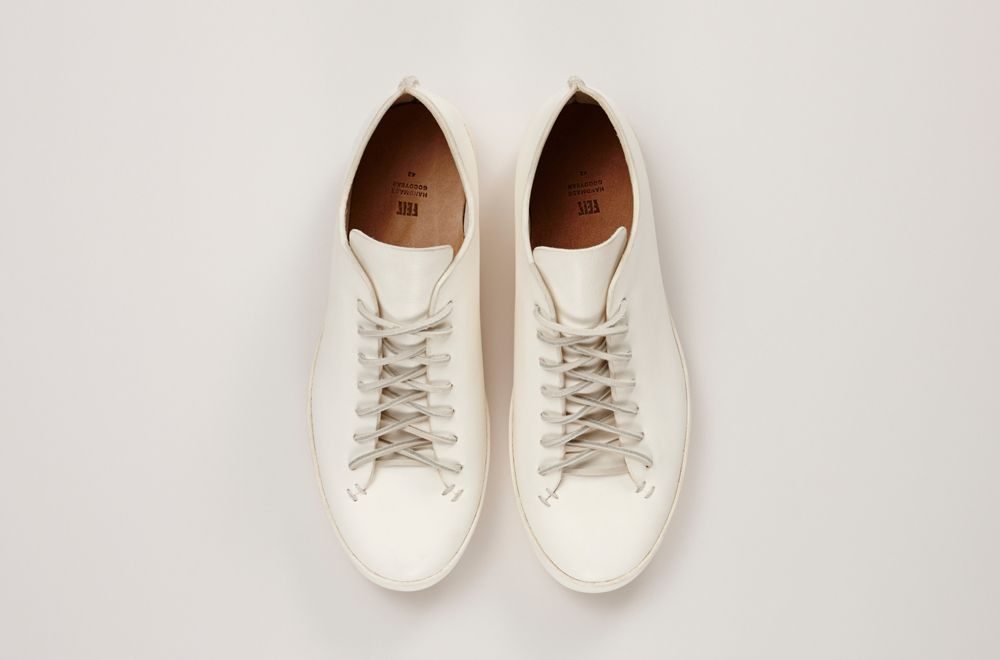 4 - Chaussures FEIT - hs - low white