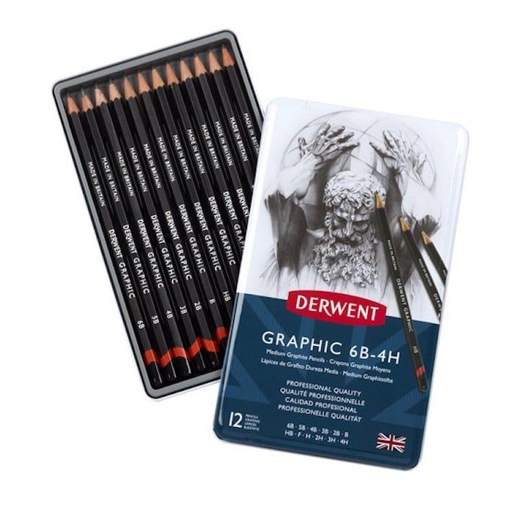 Meilleurs crayons à dessin Derwent