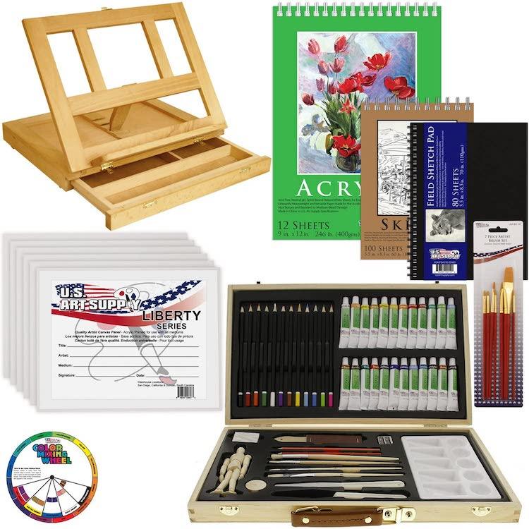 Ensemble de peinture acrylique par US Art Supply