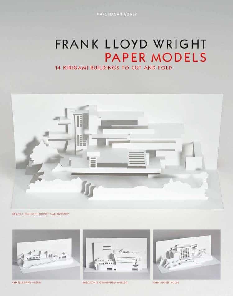 Modèles en papier Frank Lloyd Wright par Marc Hagan-Guirey