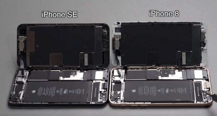 iPhone SE et iPhone 8