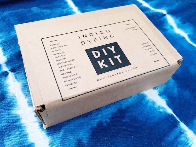 Kit de teinture indigo par Shop Adroit