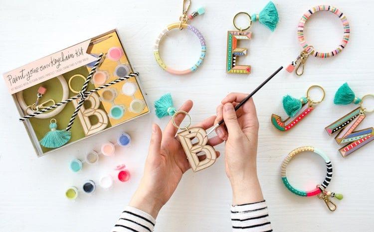 Kit de peinture pour porte-clés par Jill Makes