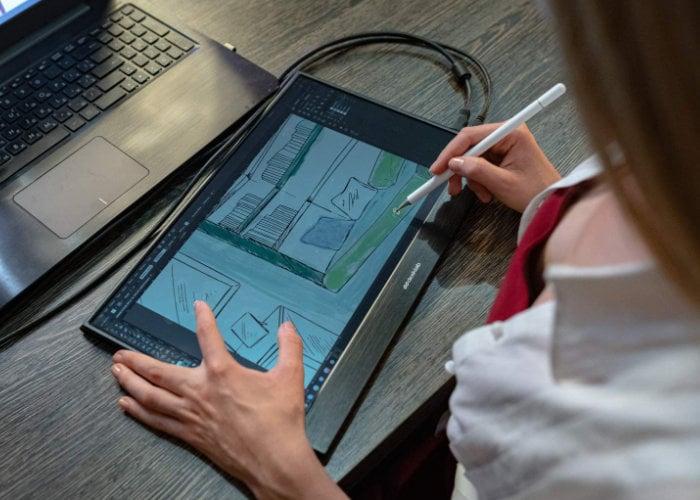 Moniteur tactile 4K ultra-léger portable Desklab