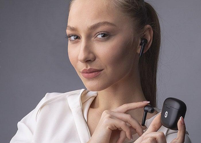 Écouteurs sans fil True à suppression de bruit