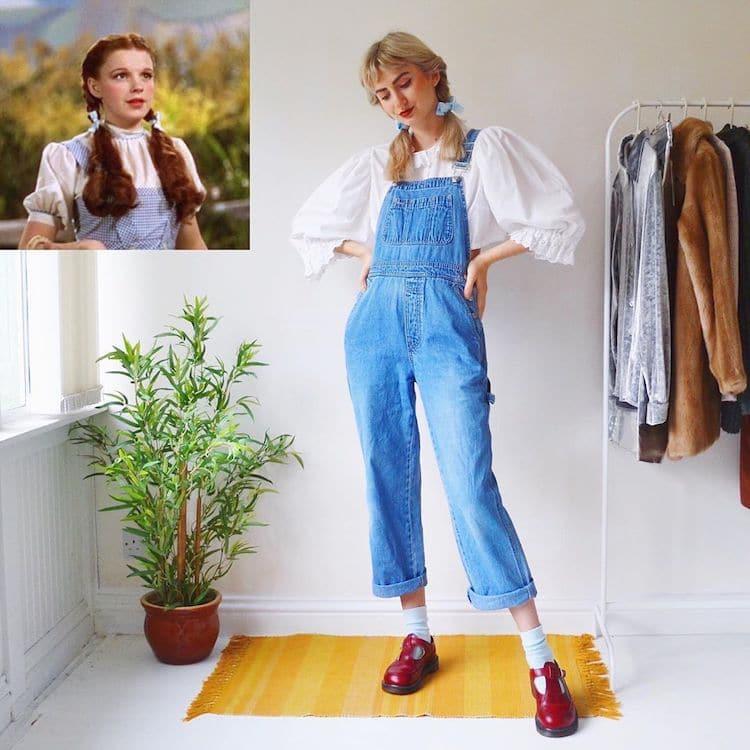 Vêtements de style vintage pour femmes