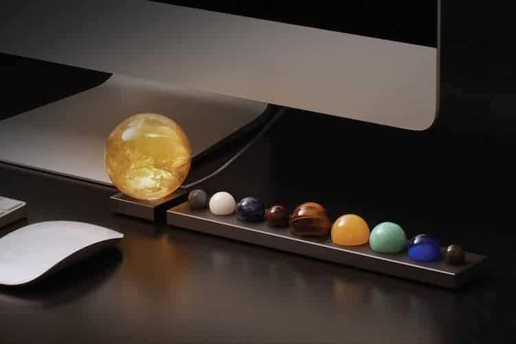 Accessoire de bureau pour système solaire de DeskX