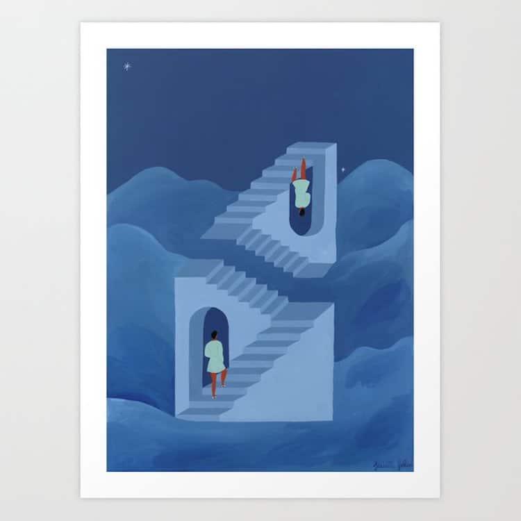 Impression d'art par Isabelle Feliu