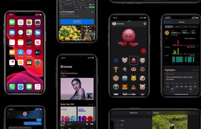 iOS 13,5 bêta 4