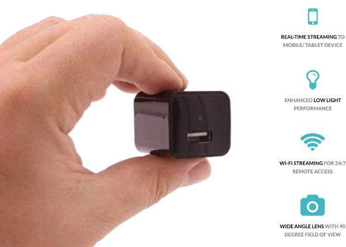caméra de sécurité secrète