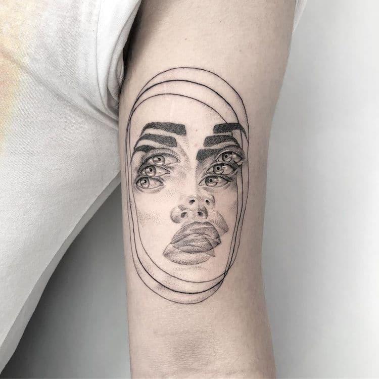 Tatouages de Double Vision