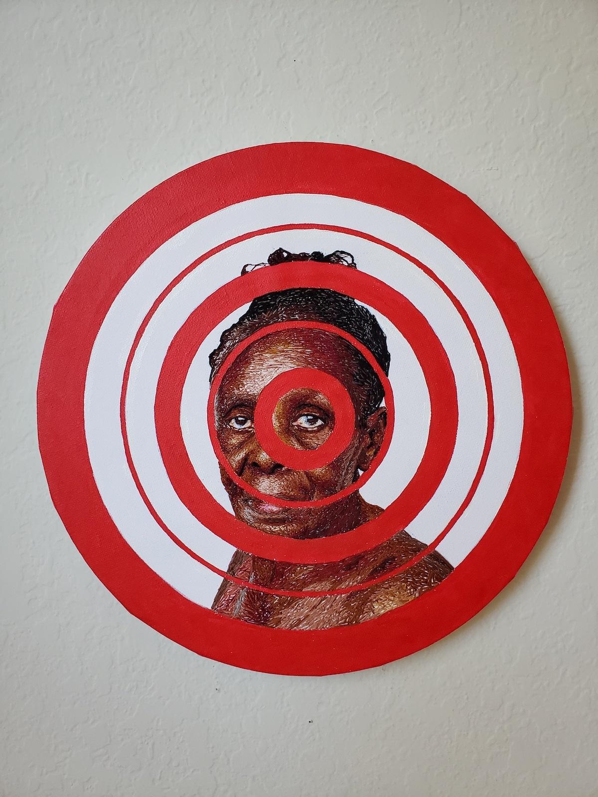 Mixed Media Portrait of a Black Women par Nneka Jones