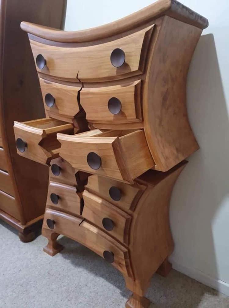 Art du bois incroyable