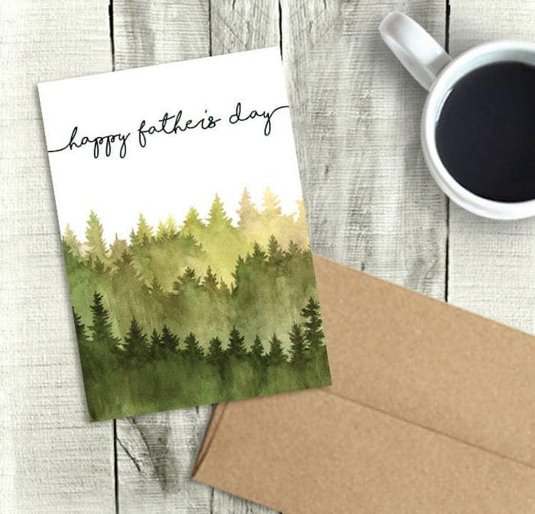 Cartes de voeux pour la fête des pères