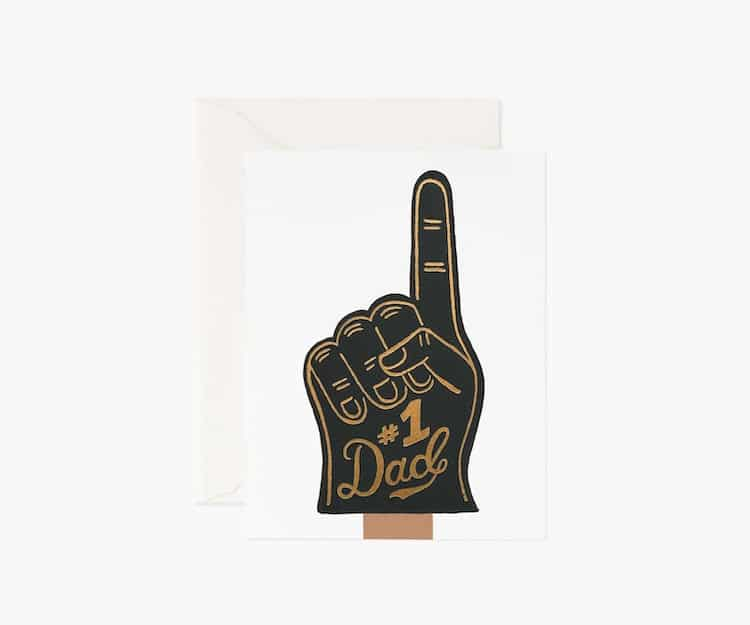 # 1 Carte de voeux papa