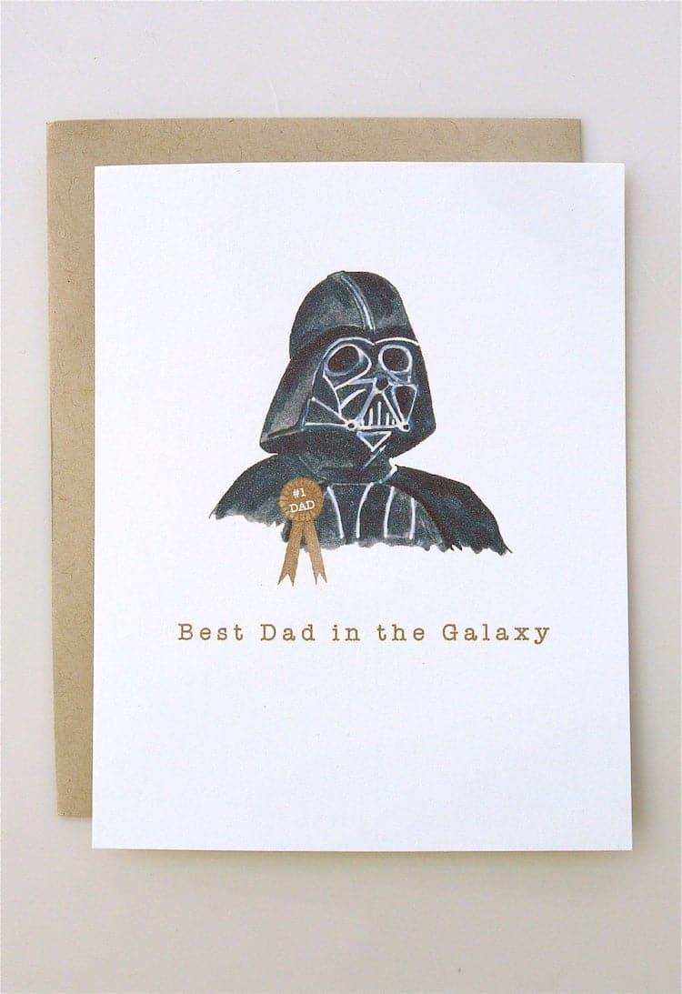 Cartes de fête des pères heureux