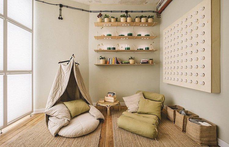 Salon moderne confortable