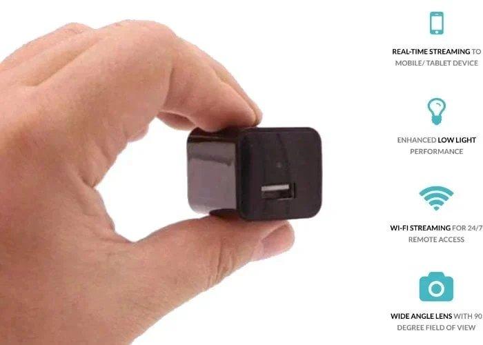 caméra secrète