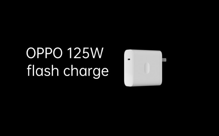 Charge Flash Oppo 125W