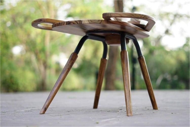 Table Basse Elytra par Radhika Dhumal
