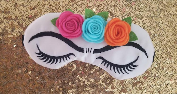 Masque pour les yeux Frida Kahlo
