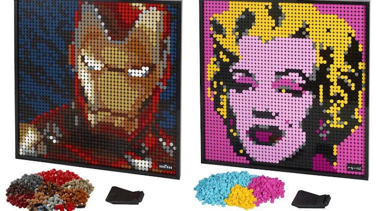 Affiches d'art à construire LEGO