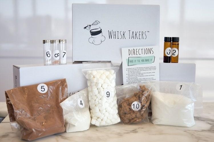 Kit de cuisson gastronomique par Whisk Takers
