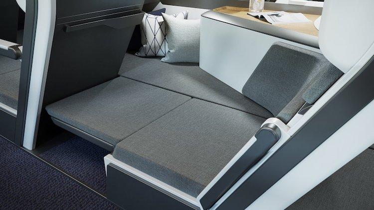 Sièges économiques confortables par Zephyr Aerospace