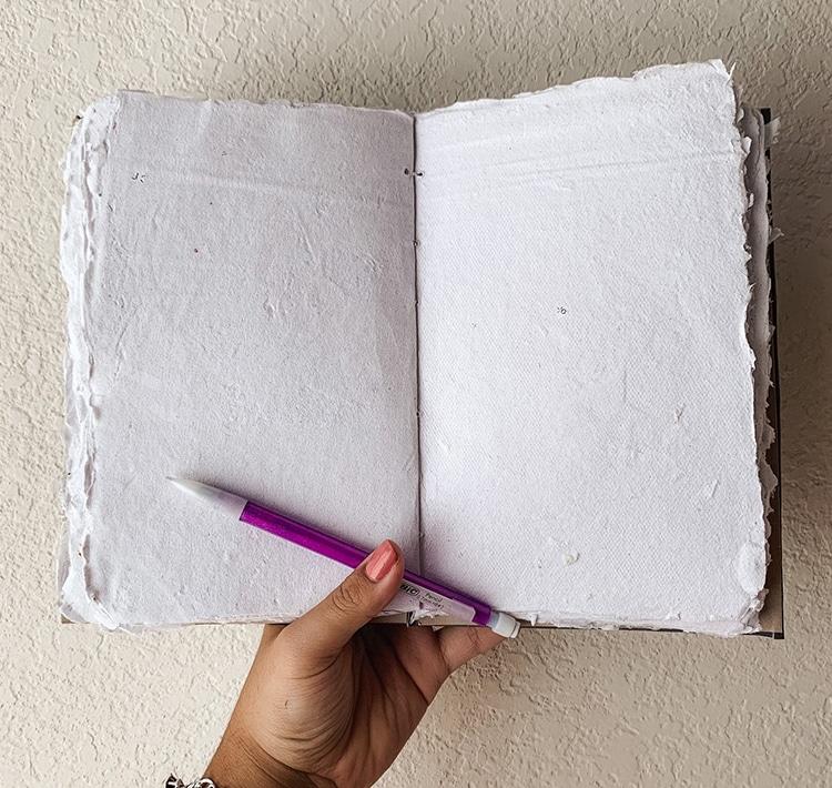 Journal de papier recyclé