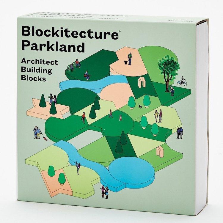 Cadeaux de vacances Architecture Building Blocks