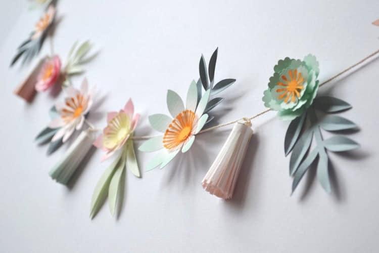 Pompon floral