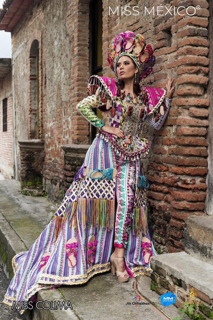 Tenue mexicaine d'inspiration traditionnelle