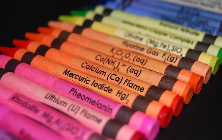 cadeaux de chimie