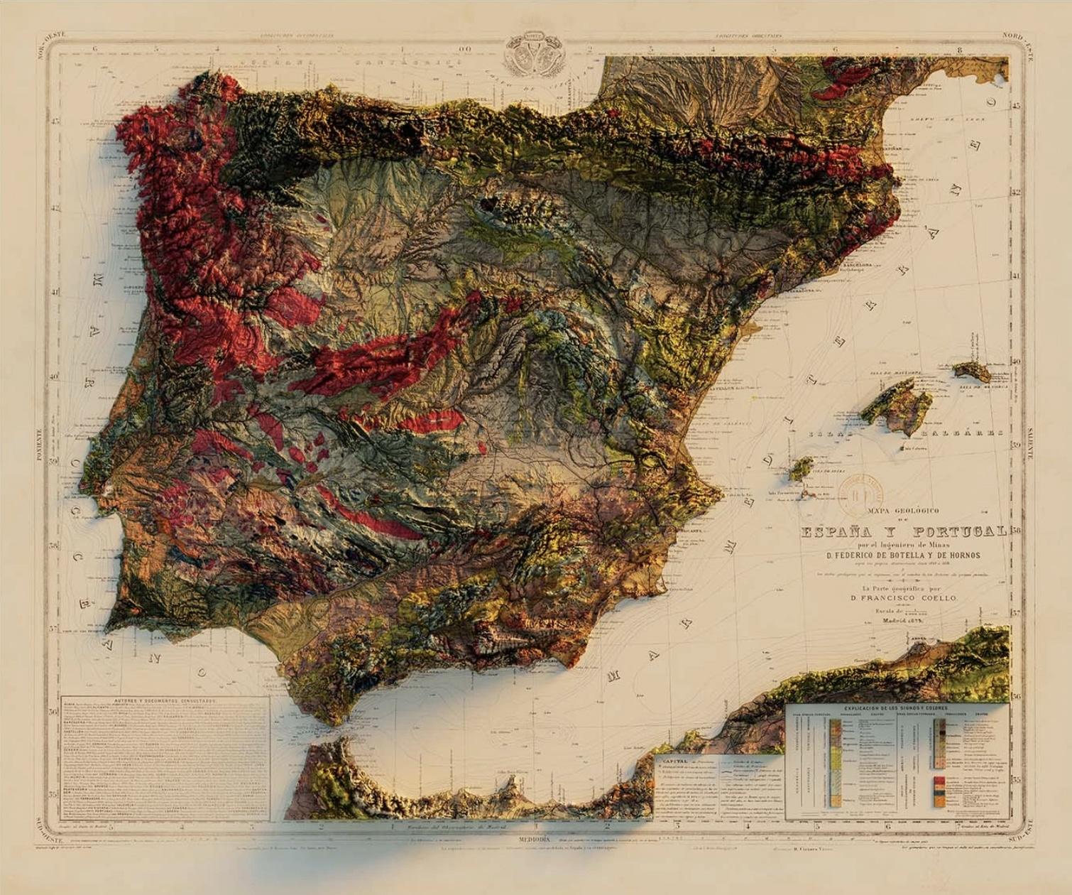 Espagne et Portugal SIG