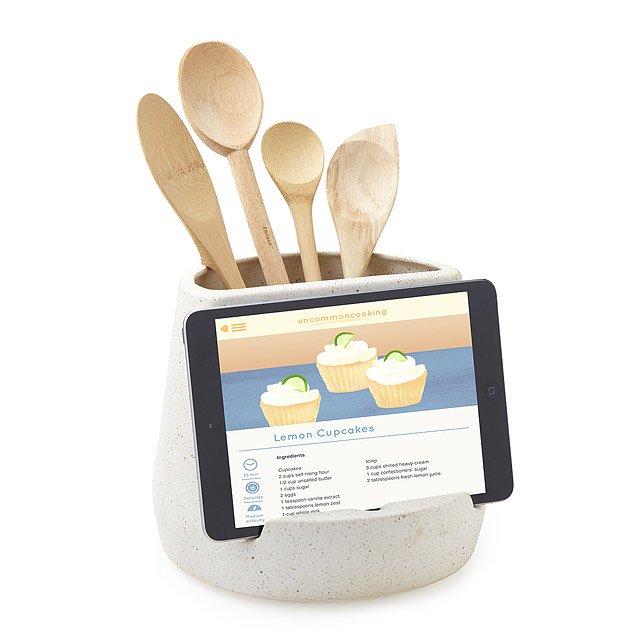 Ustensile de cuisine et support de tablette