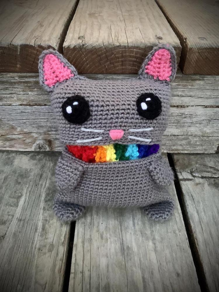 Écharpe Barf Rainbow Cat