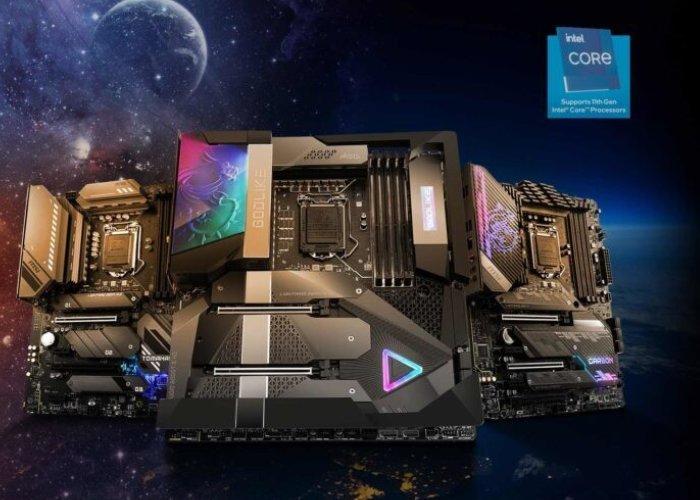 Cartes mères MSI Intel 500
