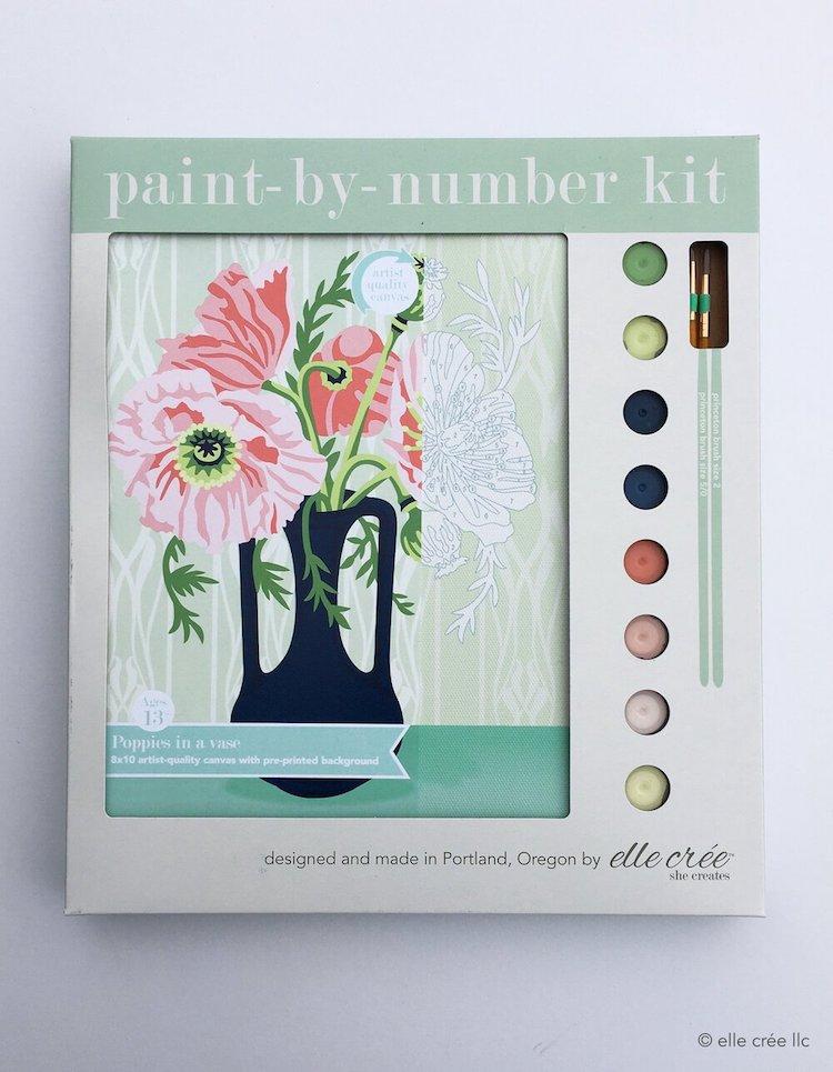Kit de peinture par numéros