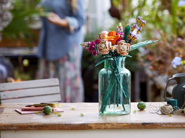 Bouqet de fleurs à base de LEGOS