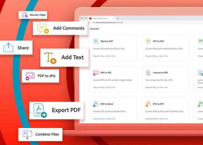Outils PDF d'Adobe Acrobat