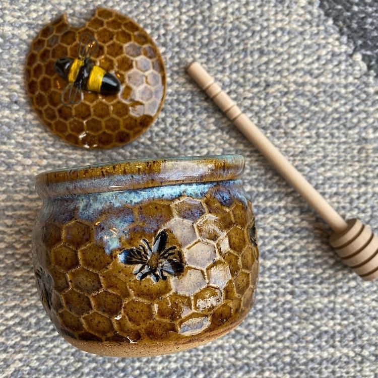 Poterie Céramique Honeycomb par Amy Gentry