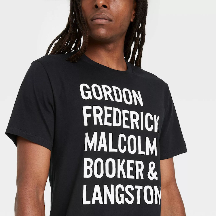 Chemises célébrant le mois de l'histoire des Noirs
