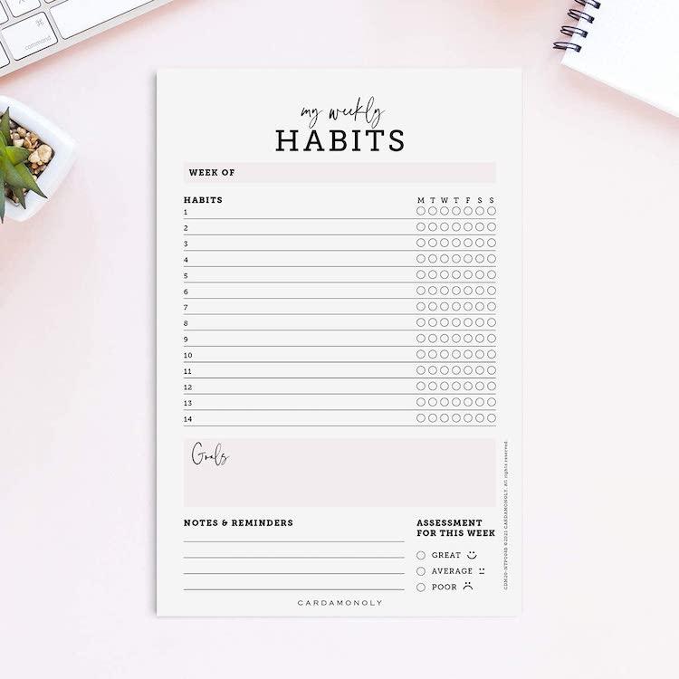 Suivi des habitudes