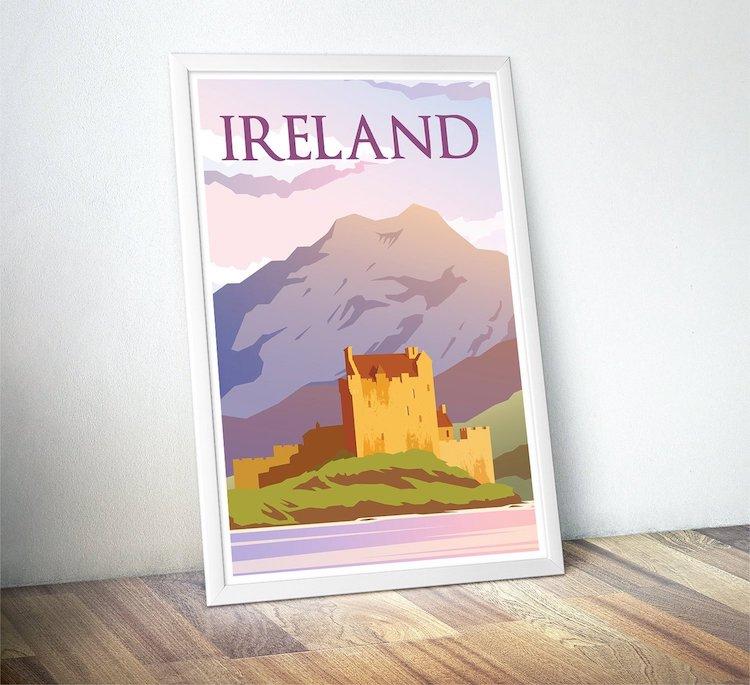 Cadeaux de la Saint-Patrick en Irlande Poster